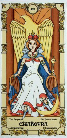 Czech Grand arcana tarot.  Major arcana/22 + 2 blank cards/  deck with book.