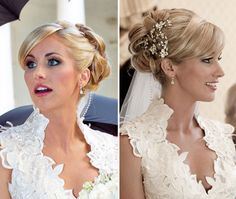 Candice Crawford - A romantic and sleek updo.