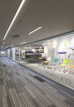 Unique LED lighting Idea for commercial spaces   Cirrus Channel D1 - by Edge Lighting #Chicago #merchandisemart