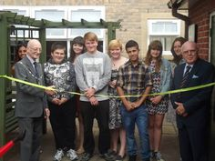 The Mayor of Bury St. Edmunds was at the grand opening of Team Penguin's Social Action Project which they are doing for #NCS.    They renovated the courtyard and Tayfen House's homeless shelter. The residents were getting involved with the renovation and a good time was had by all.    For more information on NCS please go to http://www.future-creative.org/national-citizen-service-ncs/