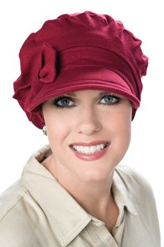 Versatility Newsboy Hat in Luxury Bamboo by Cardani - Chemo Hats & Caps - Headwear