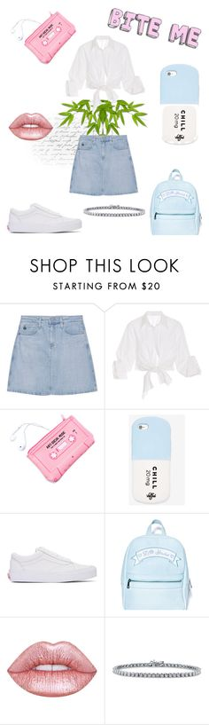 """Sugar Baby"" by witchousenova ❤ liked on Polyvore featuring AG Adriano Goldschmied, Johanna Ortiz, Lazy Oaf, Valfré, Vans, Sugarbaby, Lime Crime and BERRICLE"