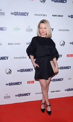 Marieta Żukowska in Baldowski WB Style Icons, Vogue, Style Inspiration, Celebrities, Outfits, Fashion Shoes, Black, Dresses, Design
