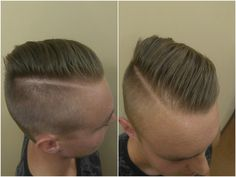 Pompadour style for Amber's awesome guest!  Come get your style on at Bellezza Avanti. Reserve today at (330) 336-8411 or check us out at http://www.bellezzaavanti.com.