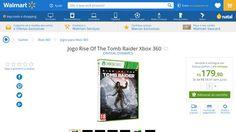 [Wal-Mart] Jogo Rise Of The Tomb Raider Xbox 360 1839429 - de R$ 260,99 por R$ 179,90 (31% de desconto)