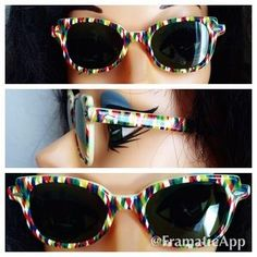I just discovered this while shopping on Poshmark: Vintage 40s 50s Calobar Bakelite Sunglasses. Check it out!  Size: OS