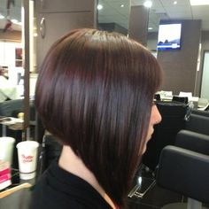 Aline Bob Haircuts, Inverted Bob Haircuts, New Haircuts, Lob Hairstyle, Cool Hairstyles, Short Stacked Bobs, My New Haircut, Shaved Nape, Best Hair Salon