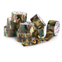 8 Rolls of Camo Duct Tape... a huge 80 yds. of decorative fun!