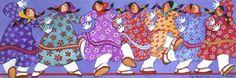 Eskimo Line Dance by Barbara Lavallee