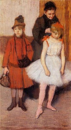 The Mante family (1889) Edgar Degas French (1834 - 1917) ?? Cm x ?? Cm, pastel Private collection