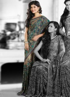 Ravishing Shimmer And Net Saree