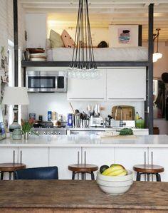 peut-être je devrais me faire une chambre au dessus de la cuisine?