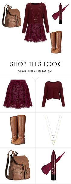 fall time 4 by kassia3-932 on Polyvore featuring Madden Girl and H&M