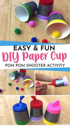 Easy Games For Kids, Indoor Activities For Kids, Kids Party Games, Fun Crafts For Kids, Toddler Activities, Diy For Kids, Diy Party Games Indoor, Minute To Win It Games For Kids, Balloon Games For Kids