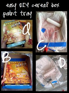 """""""paint tips DIY tray"""" #furniture #painting why didn't we ever think of this..@ Melissa Dawn"""