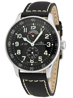 Zeno Watch Basel XL Pilot Power Reserve Limited Ed. P701-a1