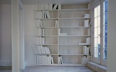 Hús minninga / House of Memories Bookshelves, Bookcase, Nyc Blog, Mad About The House, Go To New York, Architectural Elements, Wall Shelves, My Dream Home, Decoration