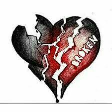8 Nejlepsich Obrazku Z Nastenky Zlomene Srdce Drawings Sad