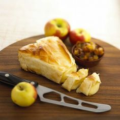 Alouette Baby Brie Wedge in Phyllo Recipe