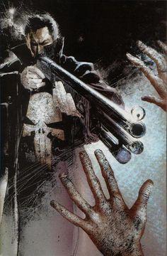 """Si vale al pena leerse un cómic, hay que leérselo de Frank Castel """"Punisher"""""""