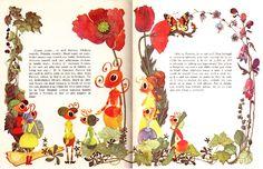 Ghenadi Pavlisin - Furnica cea viteaza Illustrators, Rooster, Photo And Video, Insects, Blog, Children, Nostalgia, Young Children, Boys