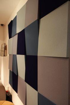 Fluffo, Fabryka Miękkich Ścian - show room Home Lovers przy ulicy Burakowskiej w Warszawie (www.homelovers.pl).