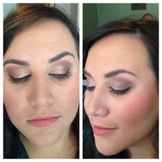 Dawn rose makeup