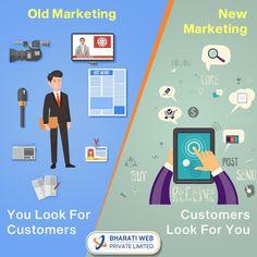 Old Marketing Vs New Marketing Internet Marketing Company, New Market, Branding, Business, Amazing, Internet Marketing Firm, Brand Management, Store, Identity Branding