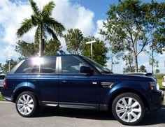 2012 Range Rover Sport in Baltic Blue