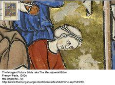 The Morgan Picture Bible  aka The Maciejowski Bible France, Paris, 1240s MS M.638 (fol. 7v)