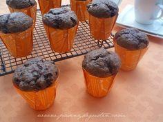 Muffins de chocolate a la naranja