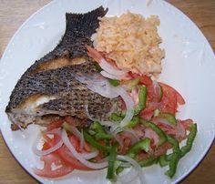 Samaki wa Kukaa Kwenye Sufuria ( Pan Fried Fish Tanzanian Style)