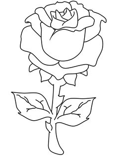 rose valentines coloring pages - Fun Coloring Sheets Printable