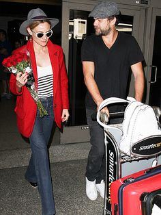 Star Tracks: Thursday, April 16, 2015   TRUE ROMANCE   As if we needed another reason to swoon over Joshua Jackson, the former Dawson's Creek star meets his longtime love Diane Kruger at LAX with a bouquet of red roses upon her arrival Wednesday.