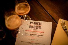 Paris Food & Drink Events: Le Dîner des Epicurieux de Planète Bière March 24 @ 19:00 - 23:00€39