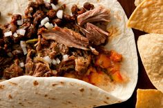 Carnitas....Carnitas may seem like a complex Mexican dish to pull off, but really it only takes a little patience to perfect. Just toss a few ingredients into a pot and slow-cook the pork in its own flavorful broth.