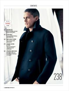 Wentworth Miller by Chiun-Kai Shih for August Man