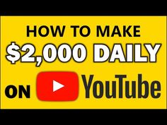 How To Earn Money With Your YouTube Channel - In 10 Minutes (2000 COPY & PASTE STRATEGY) - YouTube Ways To Earn Money, Earn Money From Home, Earn Money Online, How To Make Money, You Youtube, Blog Tips, Affiliate Marketing, Channel, Reading
