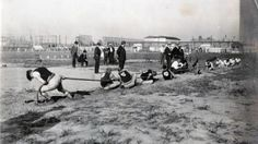A number of sports featured in the 1904 Olympic games look unusual today. To many, tug of war seems like a competition more suited for elementary school field days rather than the Olympics, but from 1900 to 1920 it was a feature of all Games, including those held in St. Louis.