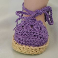 Espadrilles Sandals for Baby Cotton Baby Booties 0- 6 Months and 6-12 Months