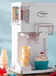 Frozen Desserts, Frozen Treats, Small Kitchen Appliances, Kitchen Gadgets, Kitchen Small, House Gadgets, Kitchen Tools, Bar Laitier, Weight Watcher Desserts
