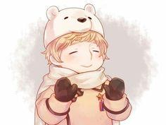 Hetalia Russia so cute !!!!!!!!