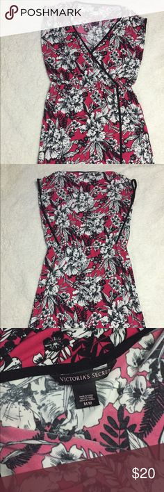 Faux wrap dress from Victoria's Secret Floral Faux wrap dress from Victoria's Secret (worn once) Victoria's Secret Dresses