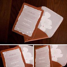Hunger Games wedding invitation - photos by Casey Fatchett - www.fatchett.com / Invitations by Katie Fischer Design - www.katiefischerdesign.com  #HungerGamesWedding