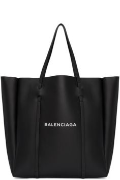 Balenciaga - Black Extra Large Everyday Tote cda0d28131a14
