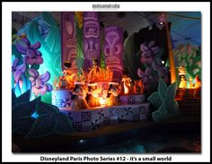 Disneyland Paris Photo Series #12 - it's a small world