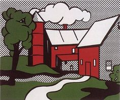 Roy Lichtenstein, Red Barn