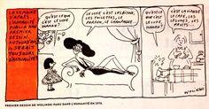 Premier dessin de Wolinski... Tellement d'actualité ! #JeSuisCharlie