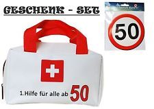 ++GELDGESCHENK ZUM 50. GEBURTSTAG++GESCHENK-SET++1. HILFE++GEBURTSTAGSGESCHENK++