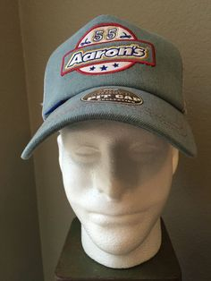 NEW 2013 Official Pit Cap Collection Nascar Aaron's 55 Michael Waltrip Hat #Chase #MichaelWaltripRacing